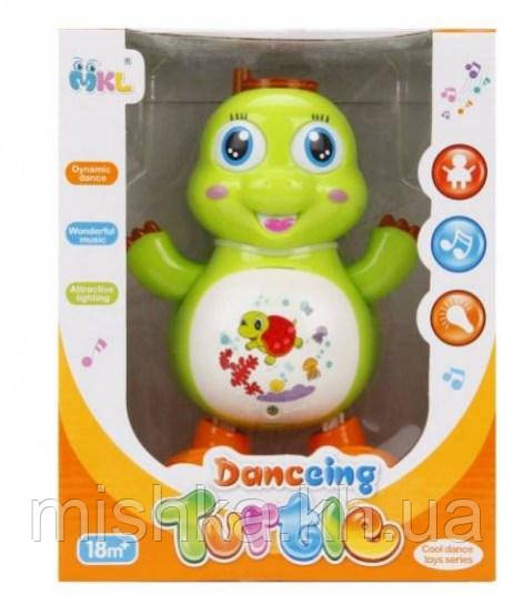 Танцююча Черепашка, світло, звук Danccing Turtle