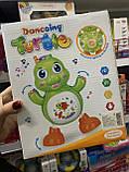 Танцююча Черепашка, світло, звук Danccing Turtle, фото 2