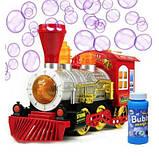 Музичний паровоз з мильними бульбашками, фото 3