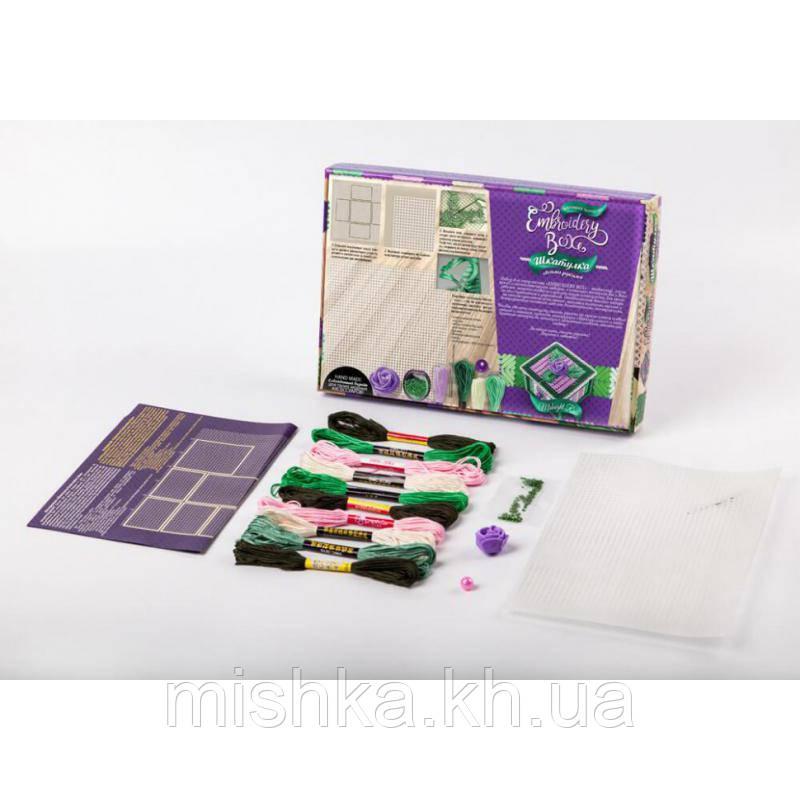 """Набір креативного творчості """"Скринька Embroidery Box"""