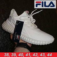 Кроссовки Fila коллаборация с Adidas Yeezy Boost. Беговые кроссовки.