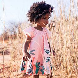 Платье для девочки Загадочные звери Little Maven (2 года) 3 года, 98