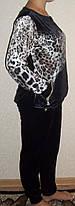 Спортивный женский костюм р.56-62 Батал, фото 2