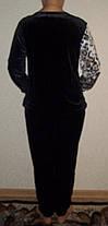 Спортивный женский костюм р.56-62 Батал, фото 3