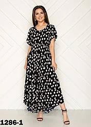 Летнее платье для женщины размеры 54-58