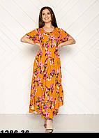 Женские летние платья трикотажные размеры 54-58