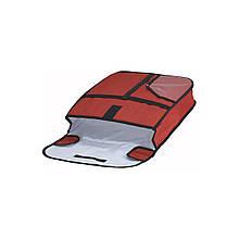 Термосумка для пиццы Winco 60 х 60 см Красный (02033)