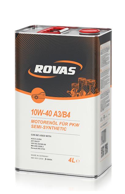 Rovas 10W-40 A3/B4 4l