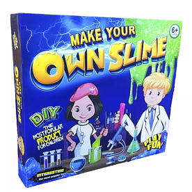 Фабрика создания лизунов Own Slime