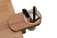 Деревянный подстаканник для парты