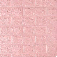 3D панель, обои, Самоклеящаяся, Sticker Wall, 70 x 77 x 0,7 см, Розовый кирпич SKL33-159352
