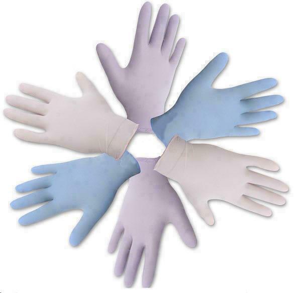 Перчатки Medicare смотровые нитриловые нестерильные не припудренные хлорированные васильковые (р.S)
