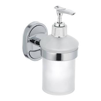 Дозатор для жидкого мыла настольный (стекло) ZERIX Z1627 (ZX0526)