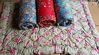 Одеяло силиконовое 175*215, стеганое (цвета в ассортименте)