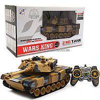 Радиоуправляемый танк Bambi Wars King, стреляет, свет, звук, дым, длина 47 см (789-1), фото 1