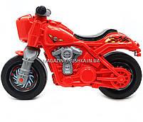 Детский Мотоцикл толокар Орион Красный 504. Популярный транспорт для детей от 2х лет, фото 2