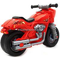 Детский Мотоцикл толокар Орион Красный 504. Популярный транспорт для детей от 2х лет, фото 3