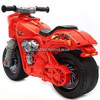 Детский Мотоцикл толокар Орион Красный 504. Популярный транспорт для детей от 2х лет, фото 5