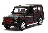 Іграшка машина Автопром Мерседес Бенц (Mercedes-Benz) Матовий чорний .Залізні машинки Гелендваген (Гелик), фото 2