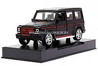 Іграшка машина Автопром Мерседес Бенц (Mercedes-Benz) Матовий чорний .Залізні машинки Гелендваген (Гелик), фото 4