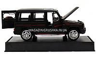 Іграшка машина Автопром Мерседес Бенц (Mercedes-Benz) Матовий чорний .Залізні машинки Гелендваген (Гелик), фото 6