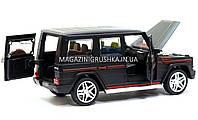 Іграшка машина Автопром Мерседес Бенц (Mercedes-Benz) Матовий чорний .Залізні машинки Гелендваген (Гелик), фото 7