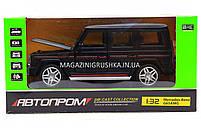Іграшка машина Автопром Мерседес Бенц (Mercedes-Benz) Матовий чорний .Залізні машинки Гелендваген (Гелик), фото 9