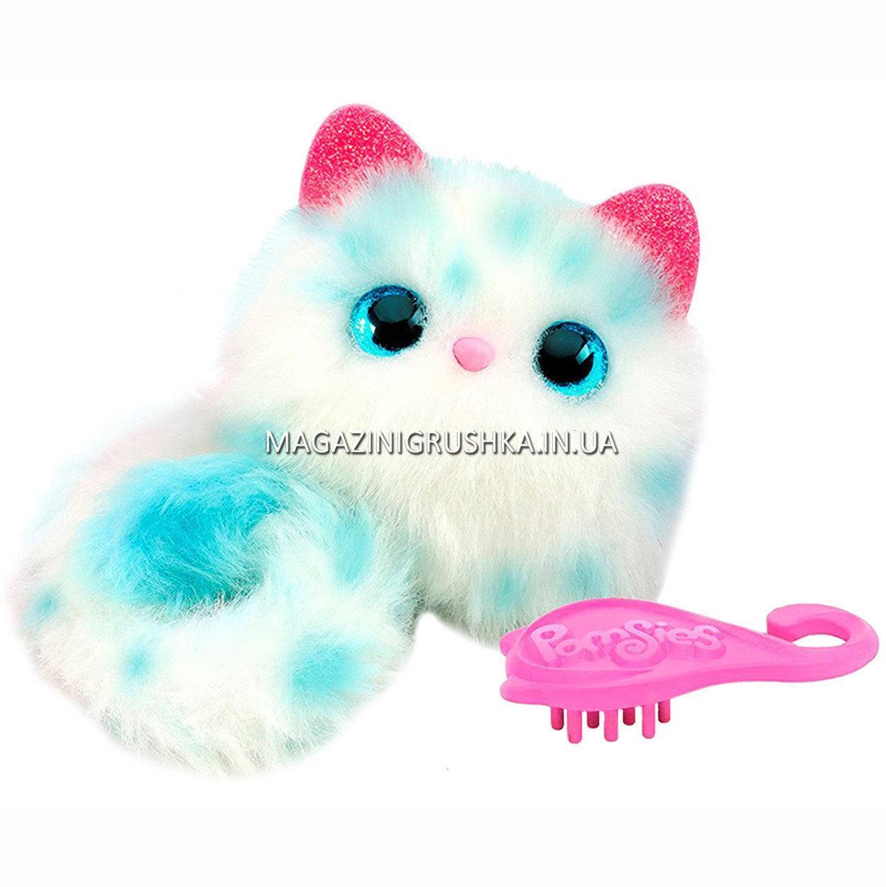 Интерактивная кошка Снежка Pomsies (помсис) игровой набор арт. 01951