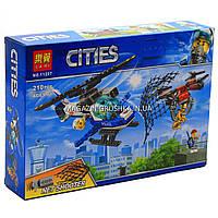Конструктор «Cities» Lari - Воздушная полиция: преследование дронов, 210 дет, (11207), фото 1