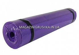 Коврик для йоги и фитнеса Фиолетовый M0380-3