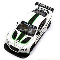 Машинка игровая автопром «Bentley Continental GT3 Concept» (Бентли) Белый 68266A, фото 2