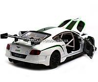 Машинка игровая автопром «Bentley Continental GT3 Concept» (Бентли) Белый 68266A, фото 5