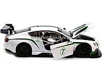 Машинка игровая автопром «Bentley Continental GT3 Concept» (Бентли) Белый 68266A, фото 6