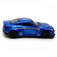 Машинка игровая автопром «Nissan GTR» Синий 7862, фото 2