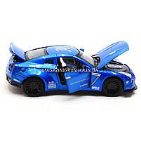 Машинка игровая автопром «Nissan GTR» Синий 7862, фото 4