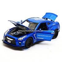 Машинка ігрова автопром «Nissan GTR» Синій 7862, фото 5