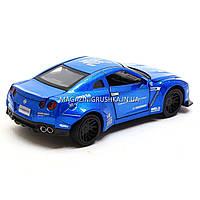 Машинка ігрова автопром «Nissan GTR» Синій 7862, фото 6