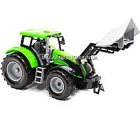 Машинка игровая автопром «Трактор» Зеленый 7682ABCD, фото 2