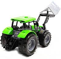 Машинка игровая автопром «Трактор» Зеленый 7682ABCD, фото 3