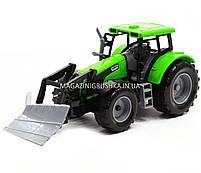 Машинка игровая автопром «Трактор» Зеленый 7682ABCD, фото 4