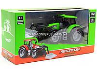 Машинка игровая автопром «Трактор» Зеленый 7682ABCD, фото 5