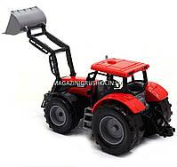 Машинка ігрова автопром «Трактор» Червоний 7682ABCD, фото 3