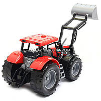 Машинка ігрова автопром «Трактор» Червоний 7682ABCD, фото 4