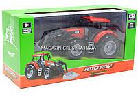 Машинка ігрова автопром «Трактор» Червоний 7682ABCD, фото 5