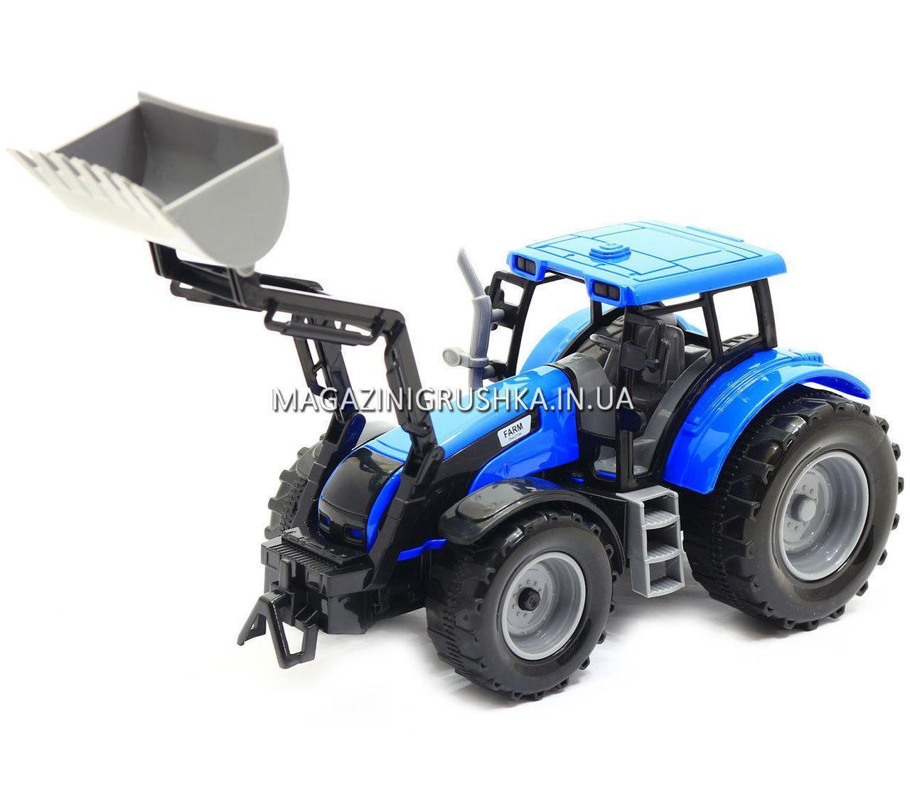 Машинка ігрова автопром «Трактор» Синій 7682ABCD