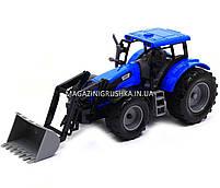 Машинка игровая автопром «Трактор» Синий 7682ABCD, фото 2