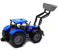 Машинка игровая автопром «Трактор» Синий 7682ABCD, фото 3