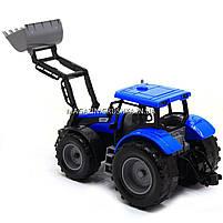 Машинка игровая автопром «Трактор» Синий 7682ABCD, фото 4