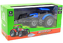 Машинка игровая автопром «Трактор» Синий 7682ABCD, фото 5