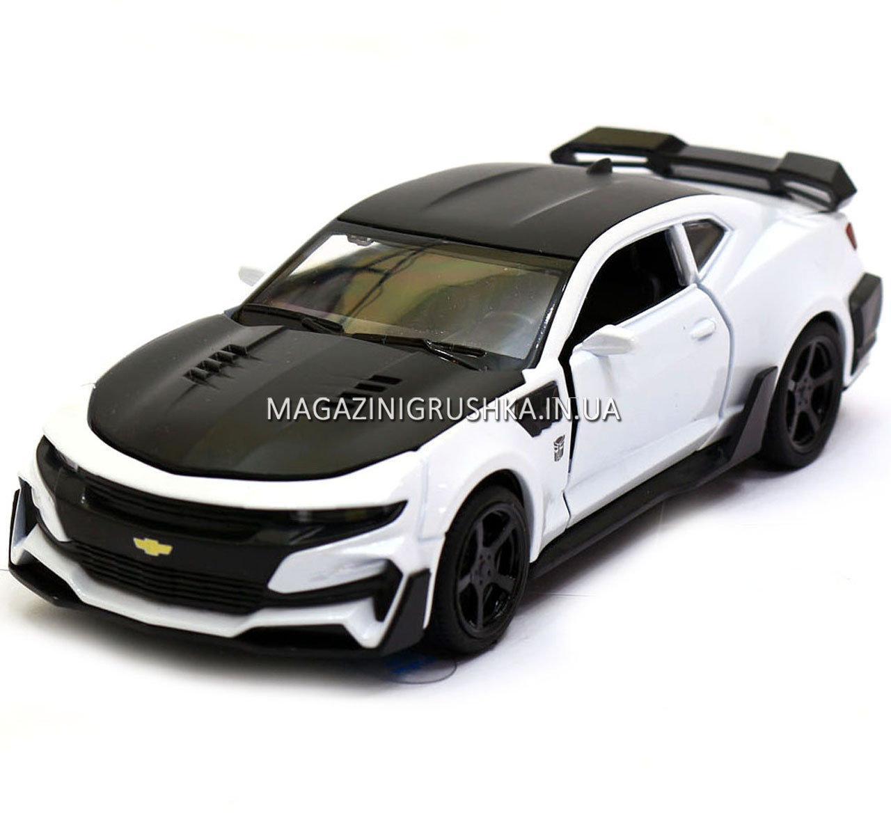 Машинка модель Автопром Chevrolet Самого (Шевроле Камаро) Білий арт.7645